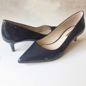 Loise et Cie Lo-Jacoba Patent Leather Kitten Heel